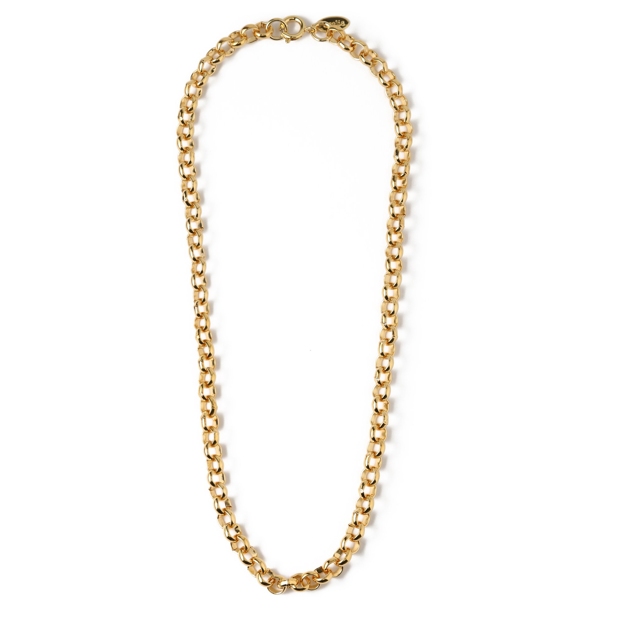 Chunky Link Chain Necklace 16""