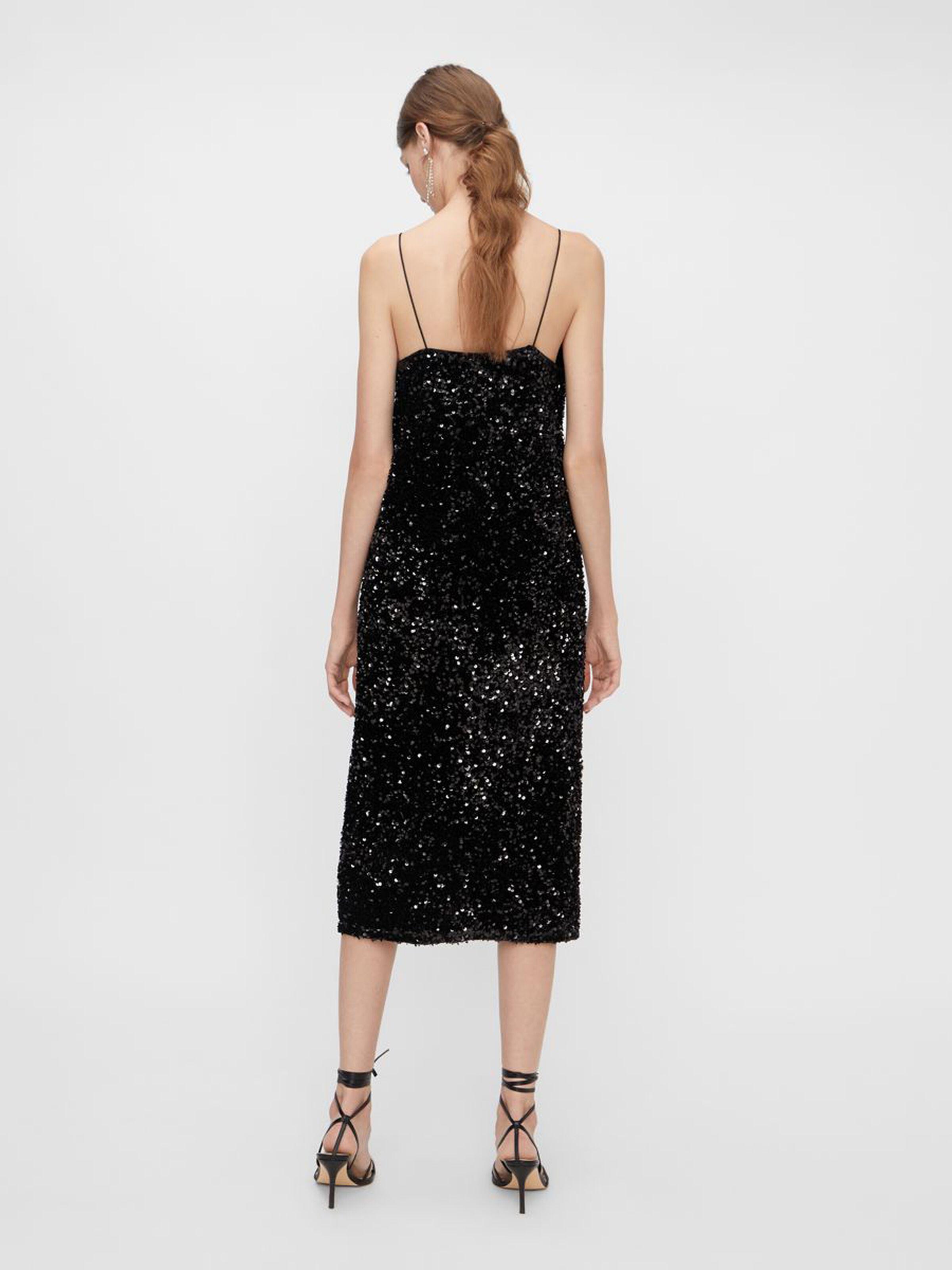 Sequella Midi Sequin Dress