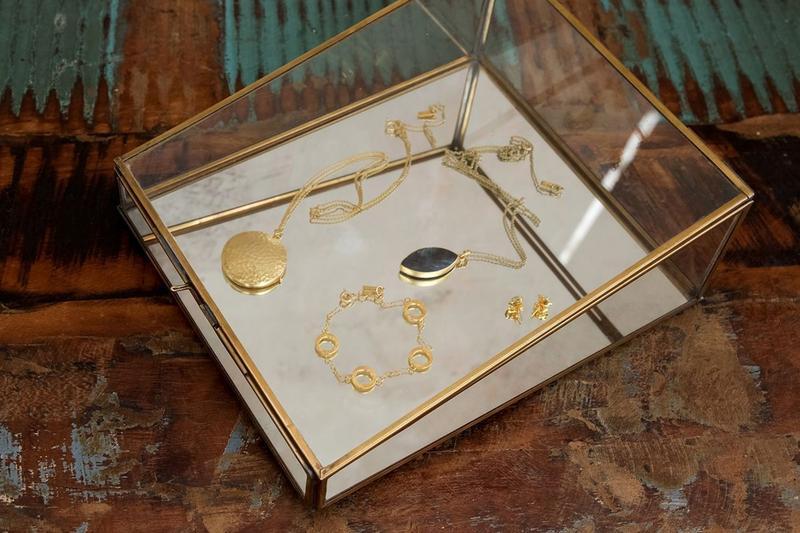 Bequai Jewellery Box- Antique Brass
