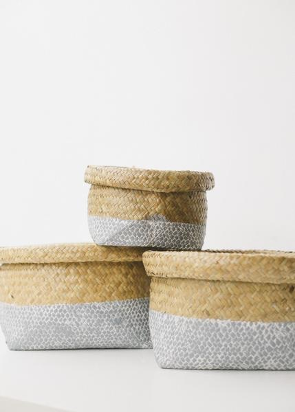 Woven Sea-grass Baskets