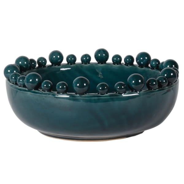 Crackle Glaze Bobble Bowl