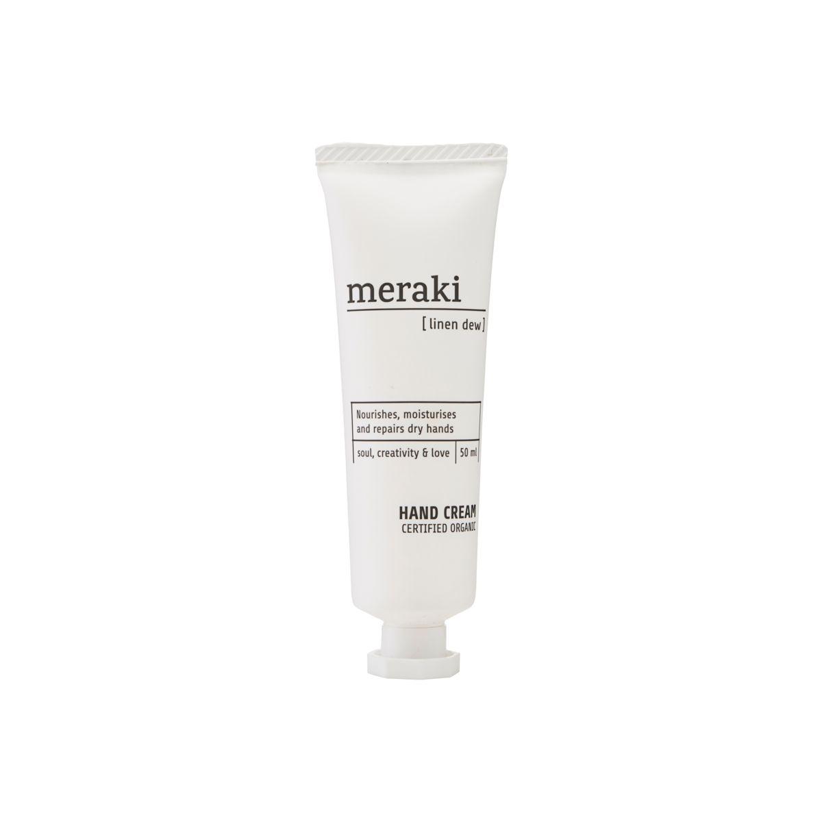 Meraki Linen dew Hand Cream