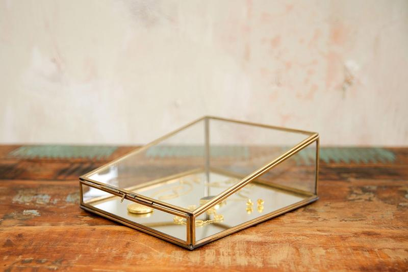 Bequai Jewellery Box- Antique Brass