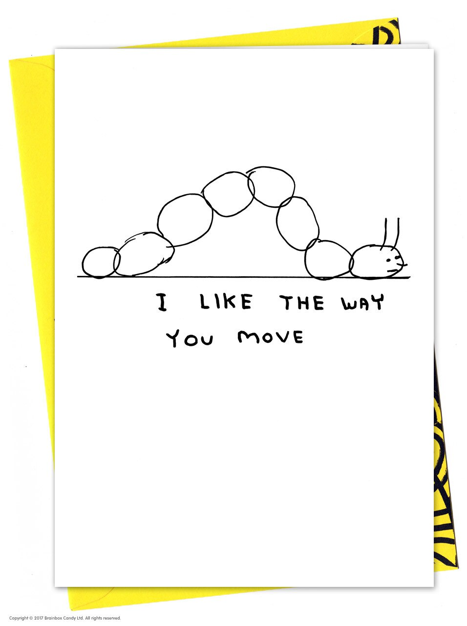 David Shrigley 'I Like The Way You Move'