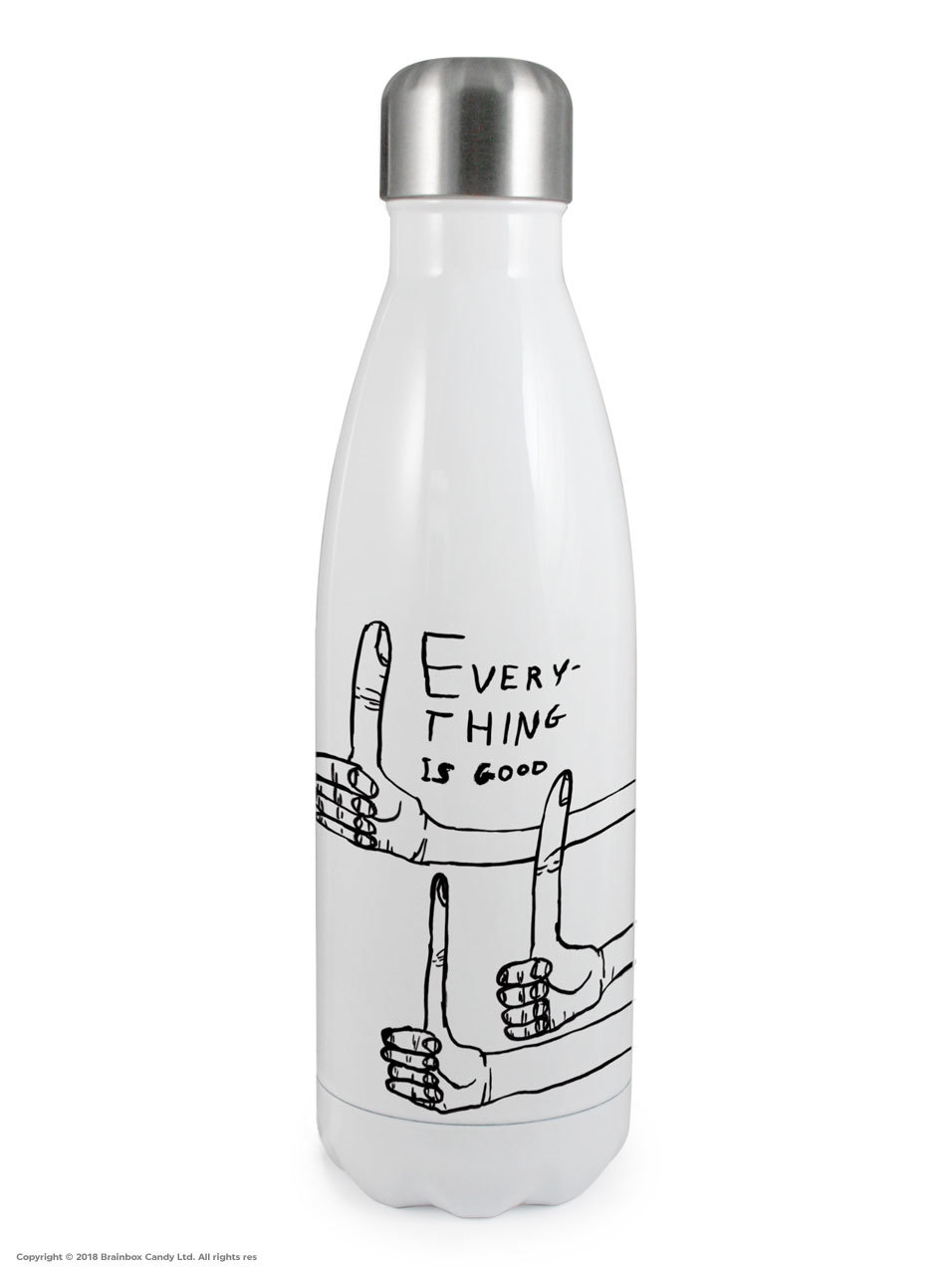 David Shrigley Thermal Water Bottle