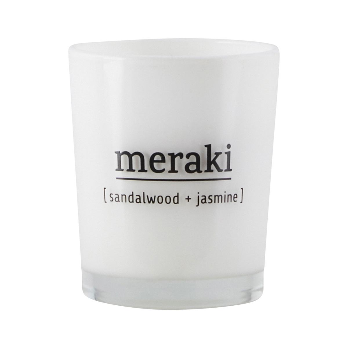 Mini Meraki Sandalwood & Jasmine Candle
