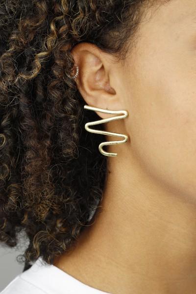 Stud Abstract shape earrings