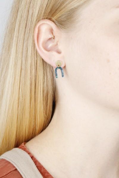 Acrylic U-Shape Earring