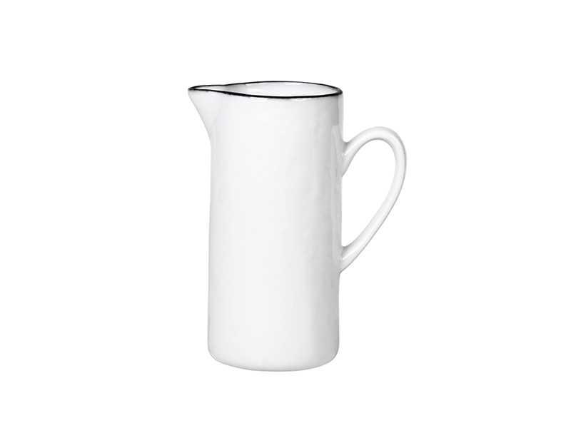 White Porcelain Salt Milk Jug