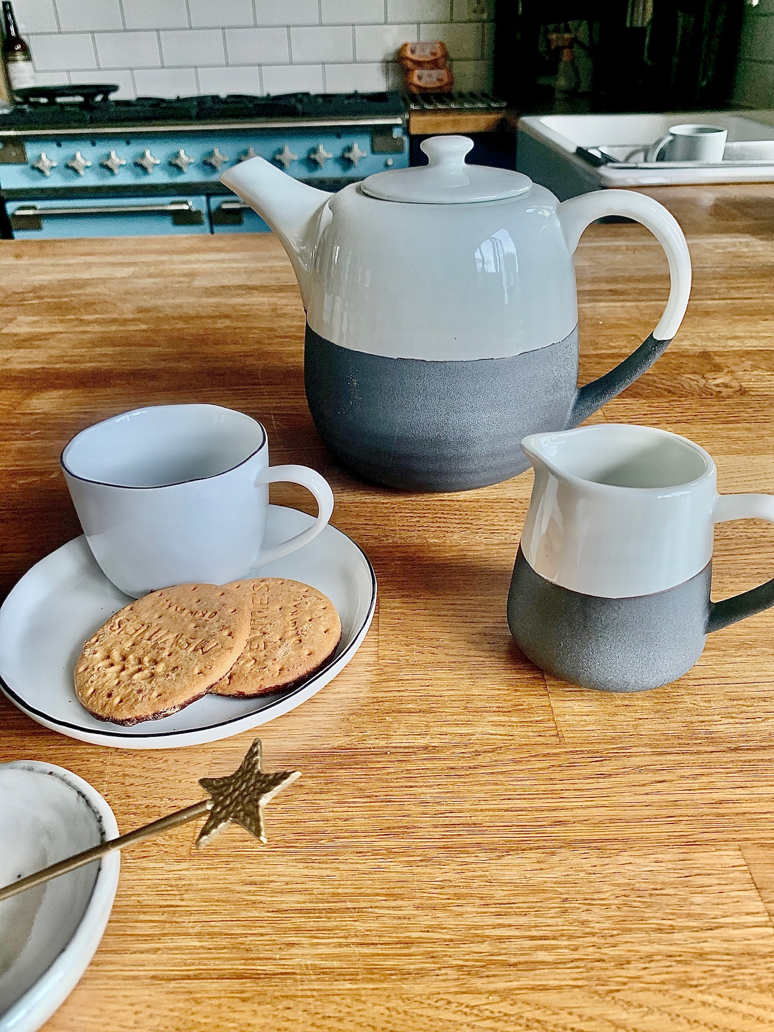Cup With Saucer 'Salt'