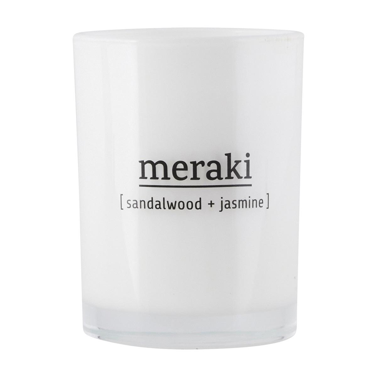 Meraki Sandalwood & Jasmine Candle