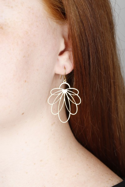 Flowers Hanging Earrings