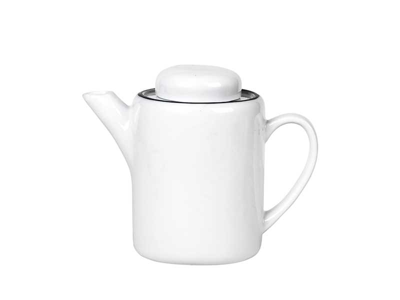 Tea Pot 'Salt Porcelain