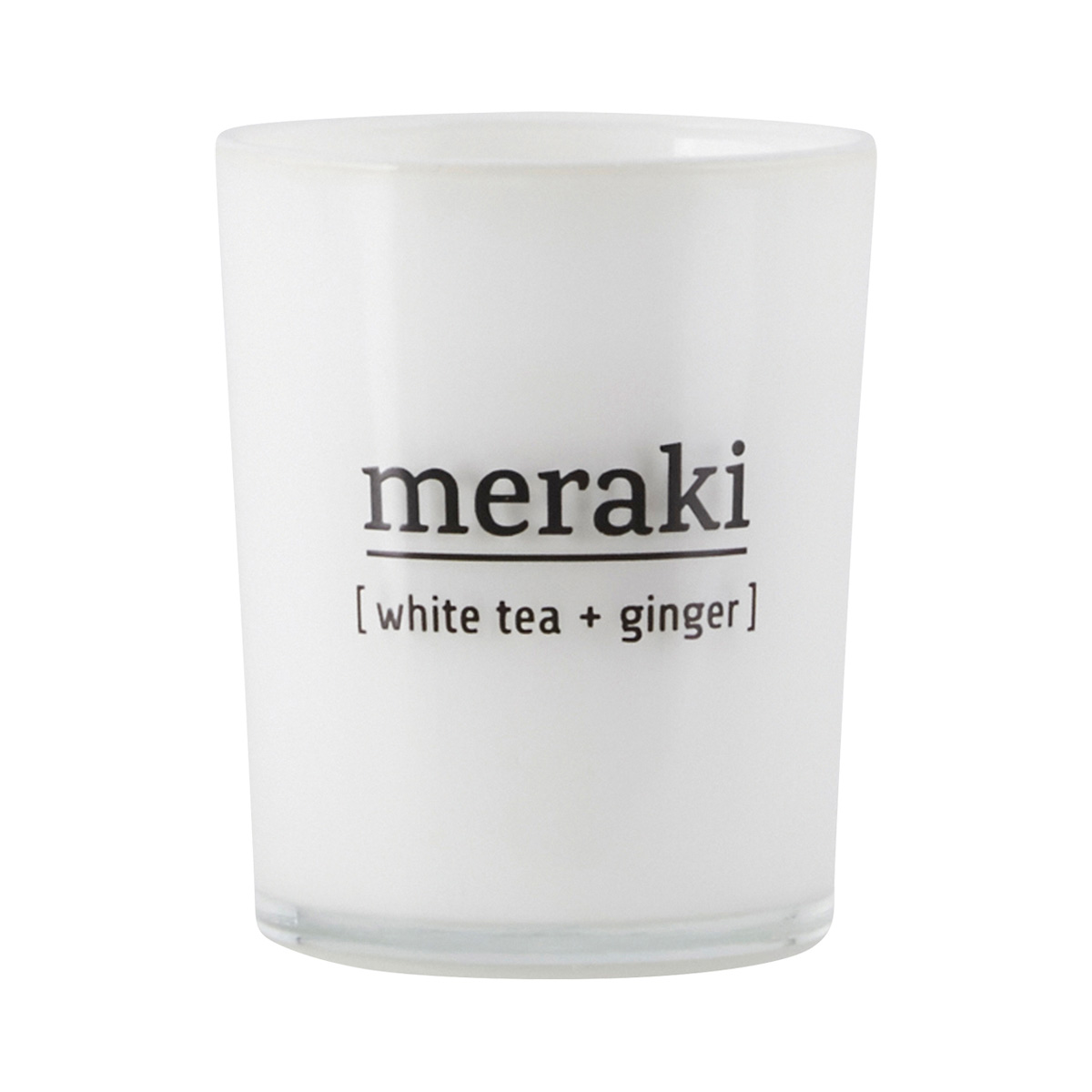 Mini Meraki White Tea & Ginger Candle