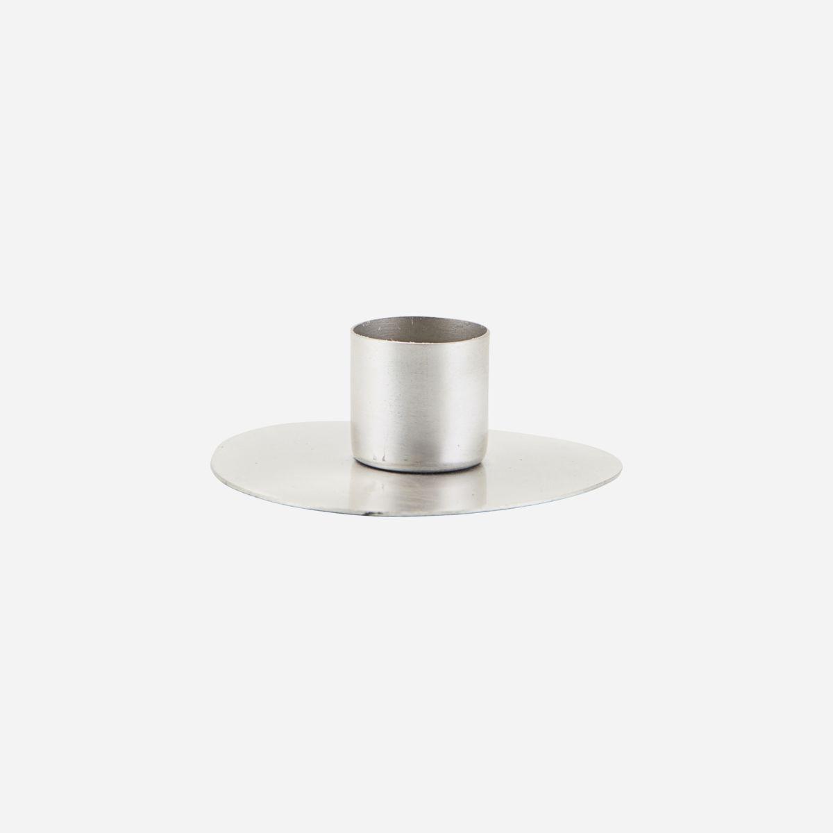 House doctor kynttilänjalka silver