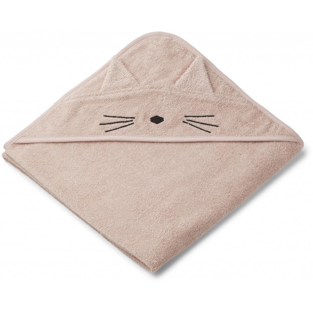 Liewood hupullinen kylpypyyhe kissa