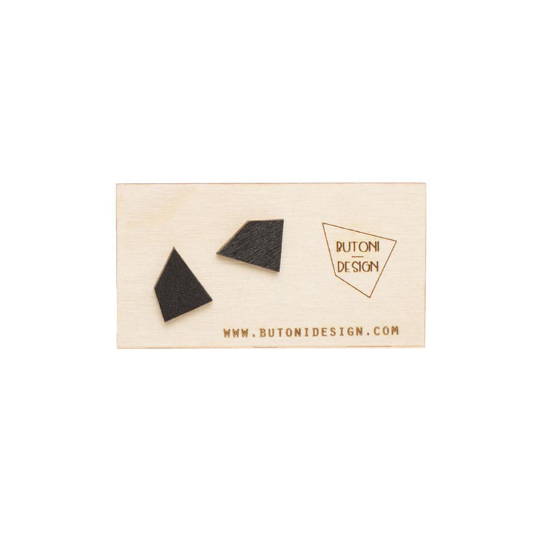 ButoniDesign Muoto korvakorut musta