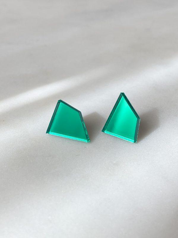 ButoniDesign Muoto korvakorut vihreä