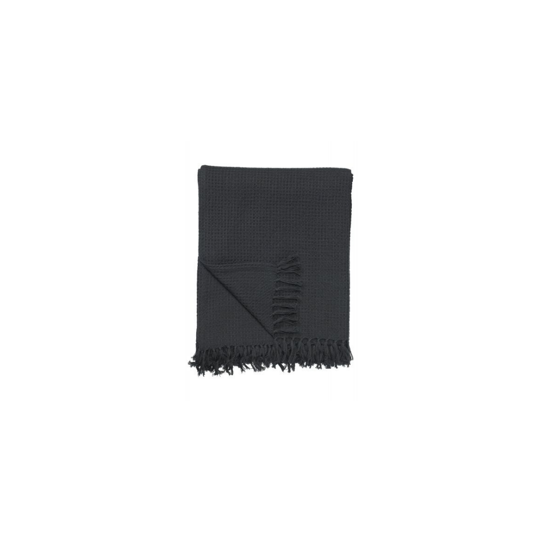 Svanefors torkkupeitto tummanharmaa 130x170