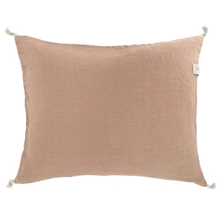 Ernst tyynynpäällinen tupsuilla  nougat