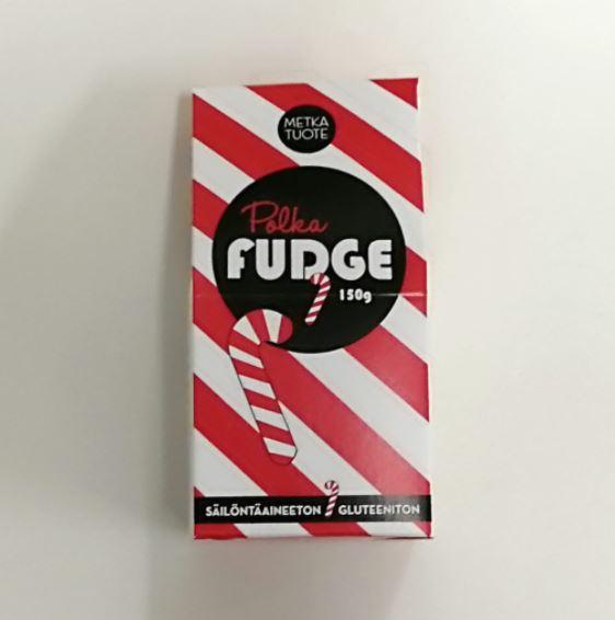 Metkatuote polka fudge
