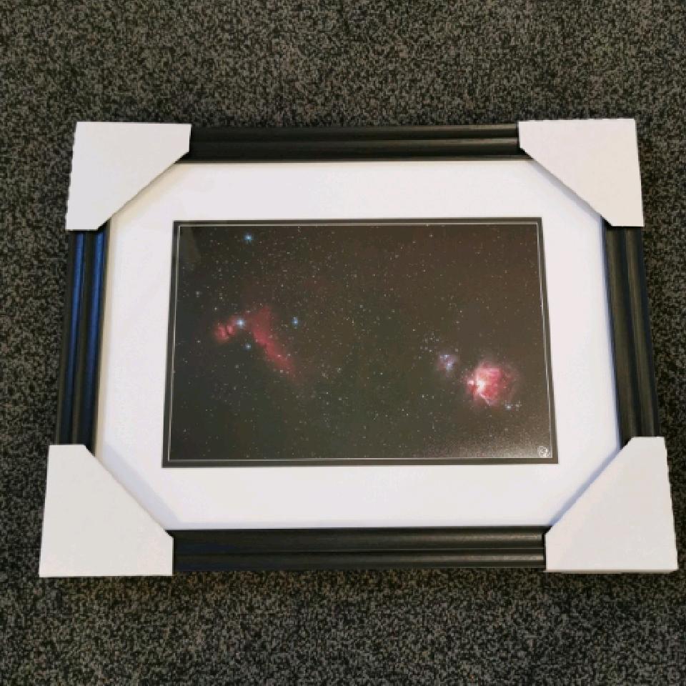 Orion Widefield, A4, signed, black
