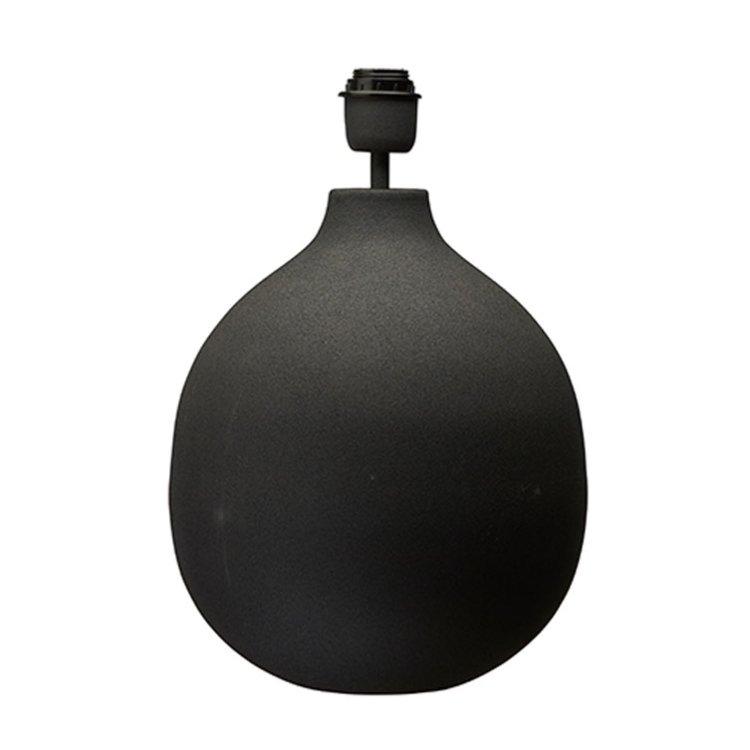 Lampfot svart Large