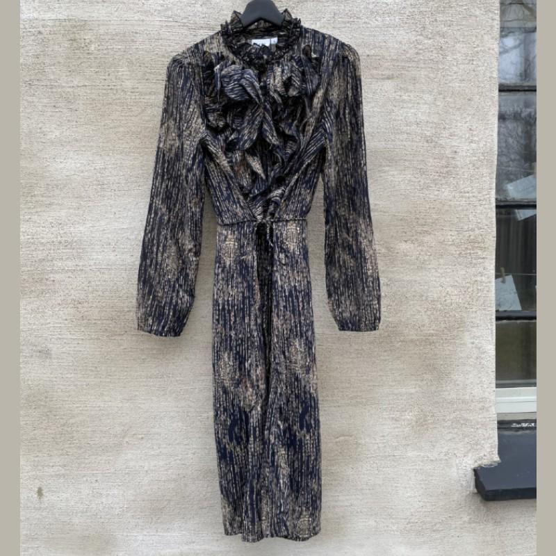 Klänning med krås eclipse rain