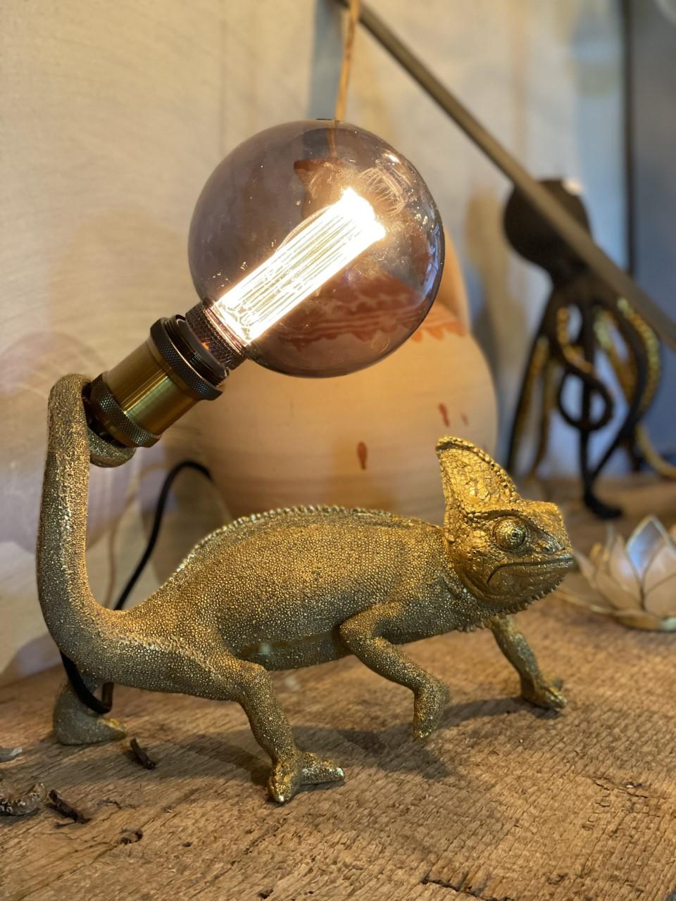 Kameleont lampa
