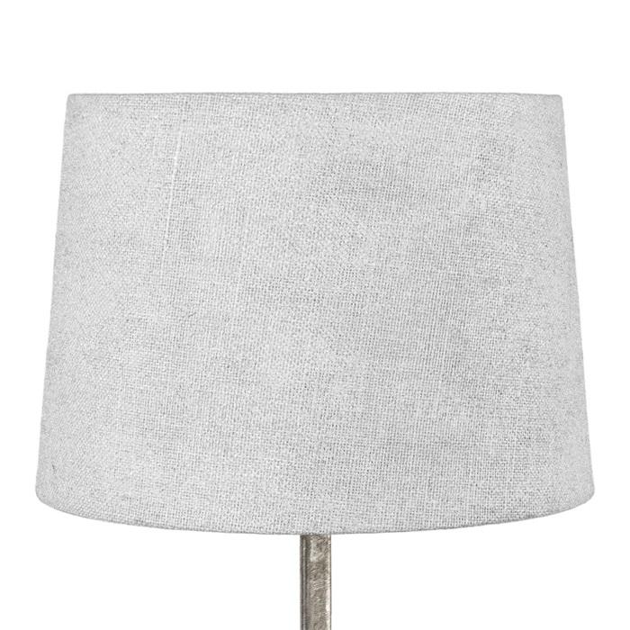 Lampskärm silver