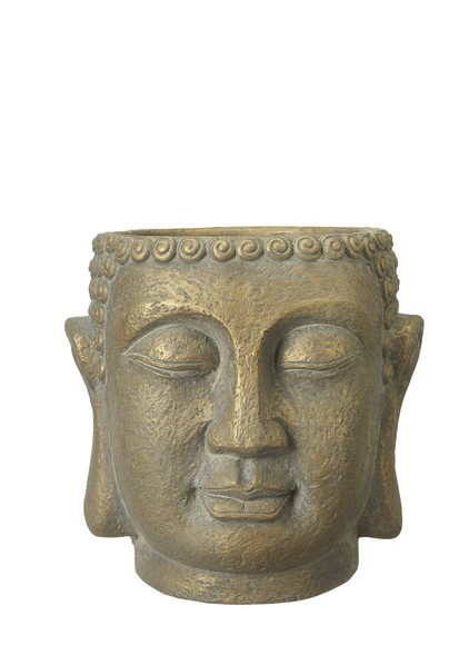 Kruka buddha guld