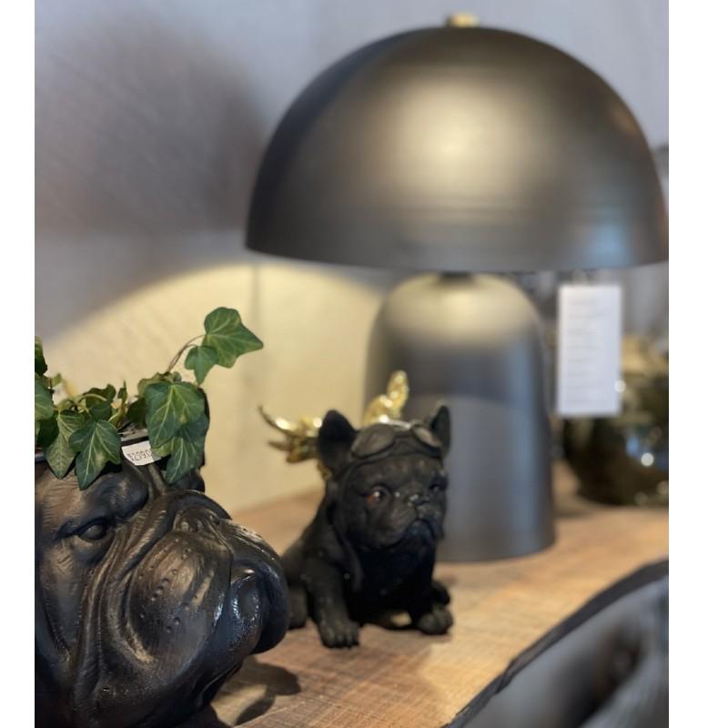Bordslampa mörkgrå