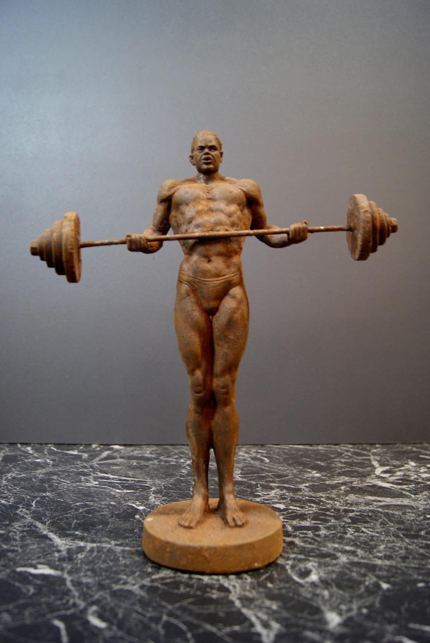 Tyngdlyftaren staty