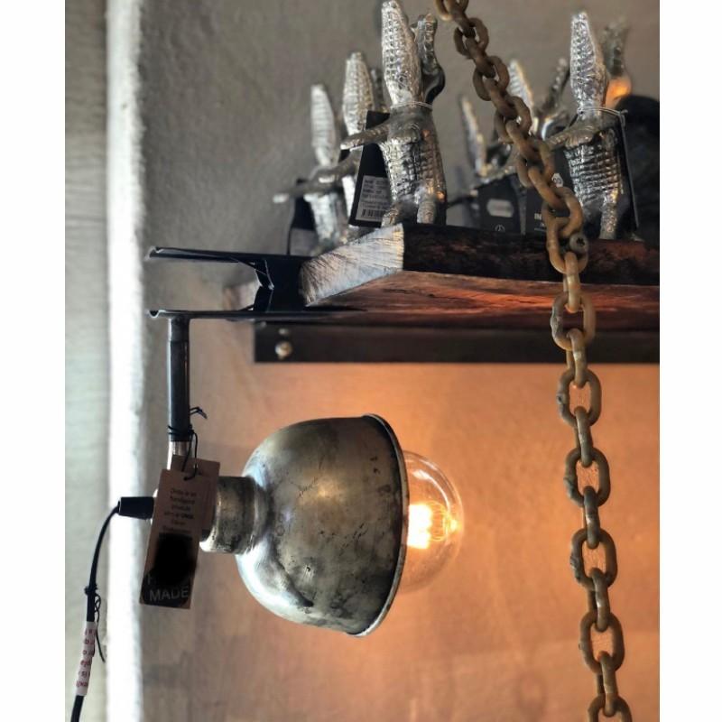 Lampa/clip cloudy/rusty