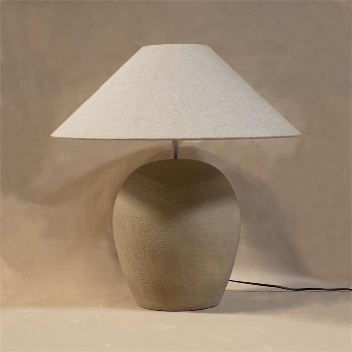 Lampfot keramik vanilj