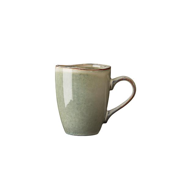 Mugg grå/grön