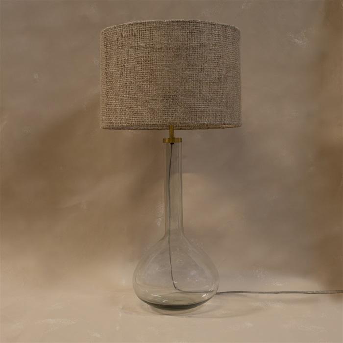 Lampfot i glas hög
