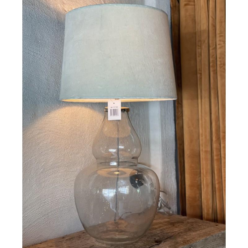 Lampskärm creme sammet
