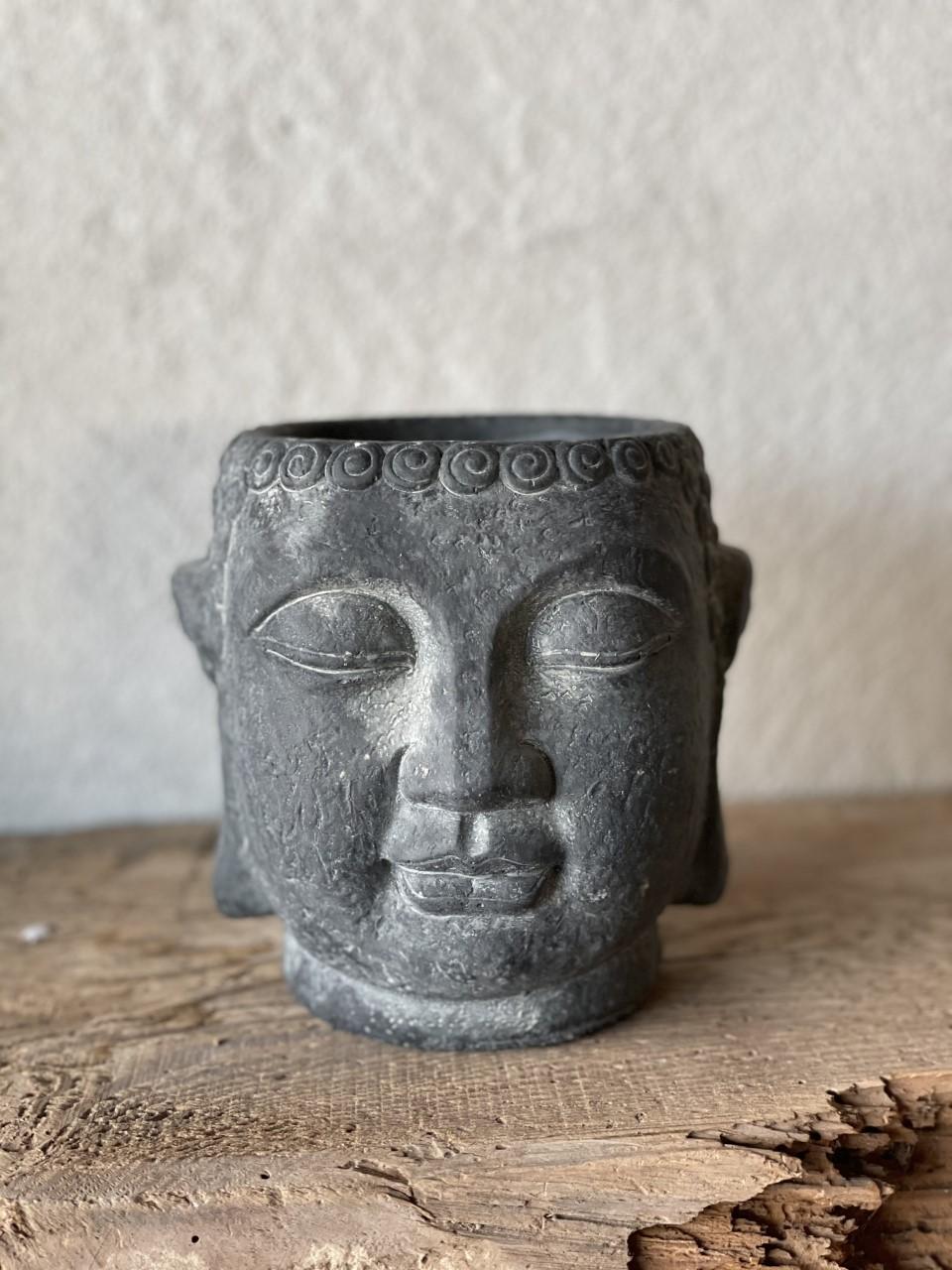 Kruka buddha svart