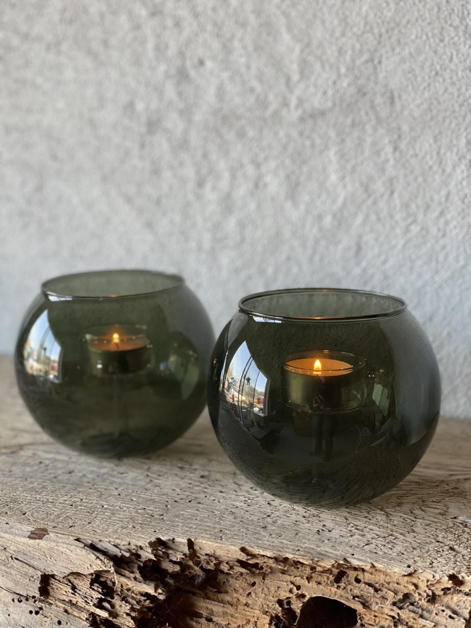 Ljuslykta klar/grön