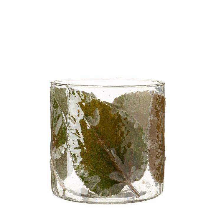 Ljuslykta blad klar/grön