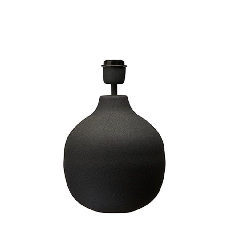 Lampfot svart small