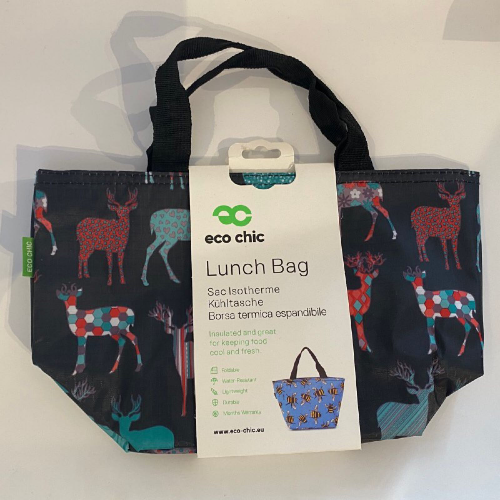 Black Stags Lunch Bag