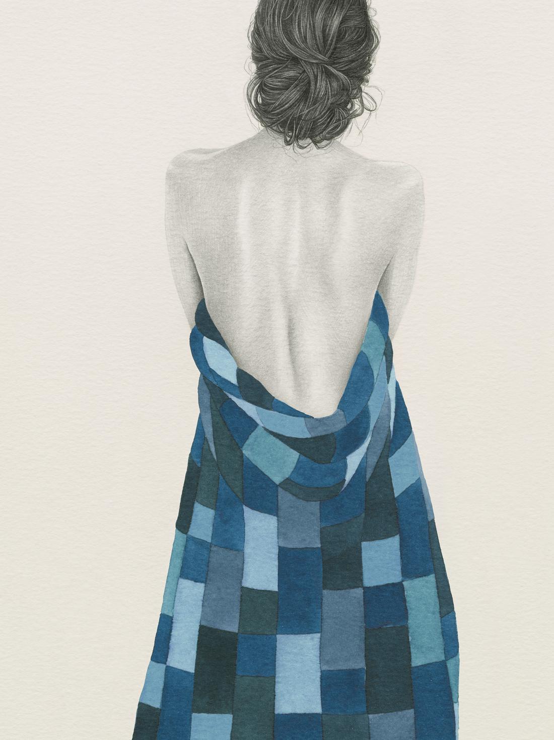 HELENA FRANK - Blue Patchwork