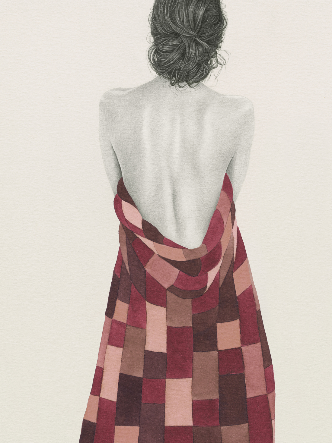 HELENA FRANK - Red Patchwork