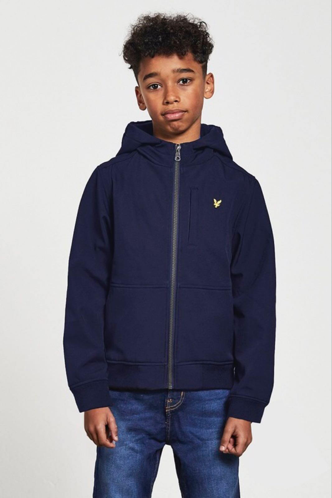 Lyle & Scott Junior Softshell Jacka Navy