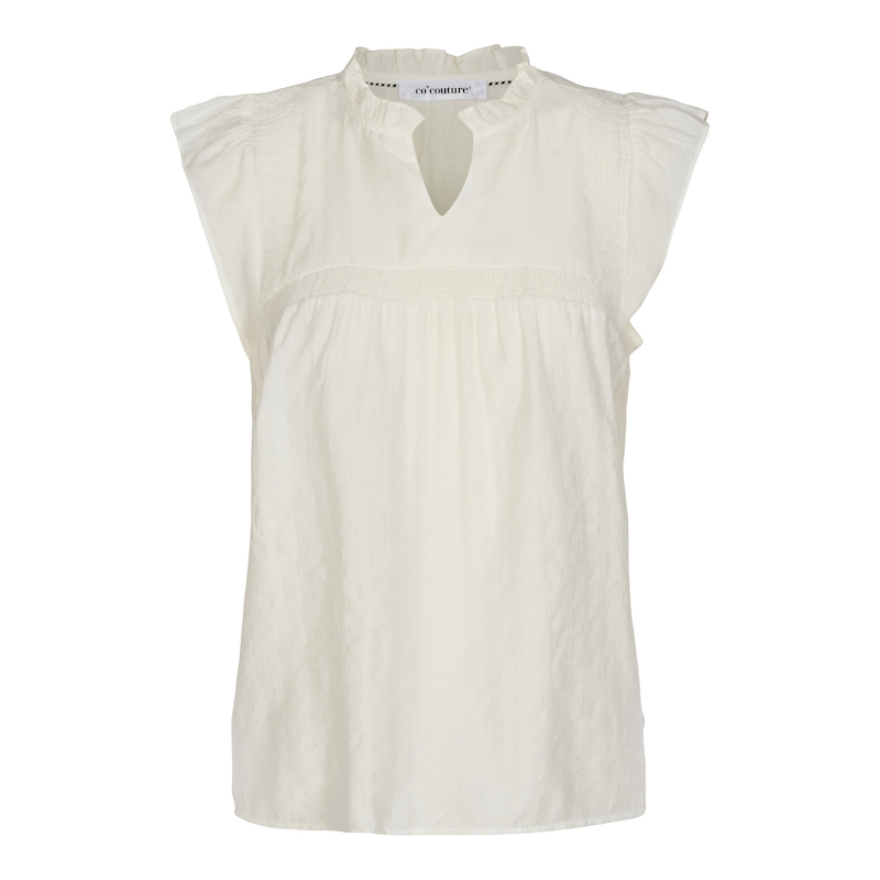 Co`Couture Mercer Top White