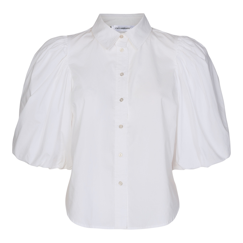 Co`Couture Collie Puff Sleeve Shirt