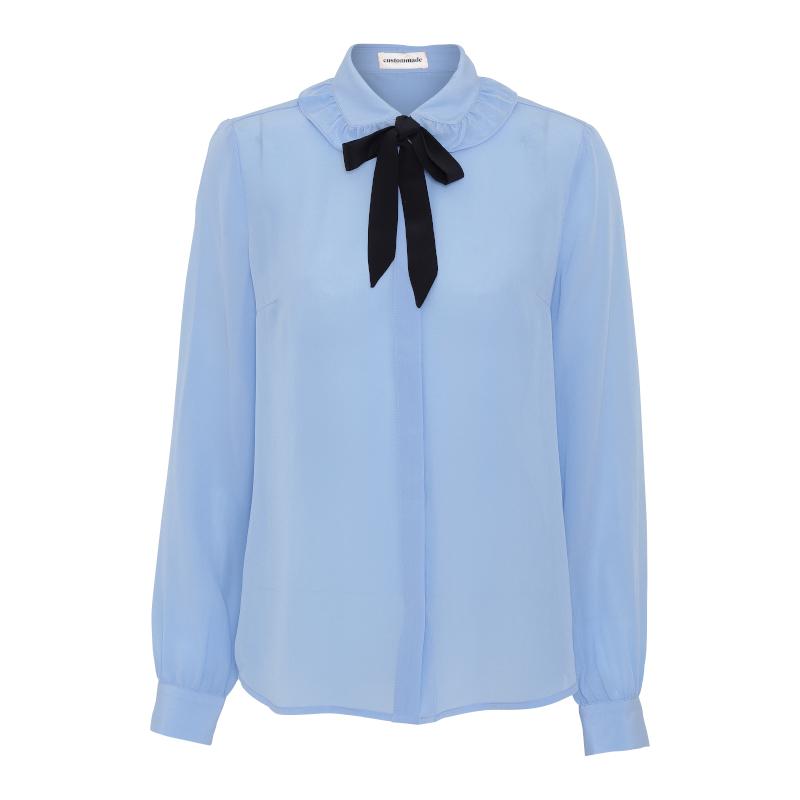 Custommade Emma Sofie Shirt Blue