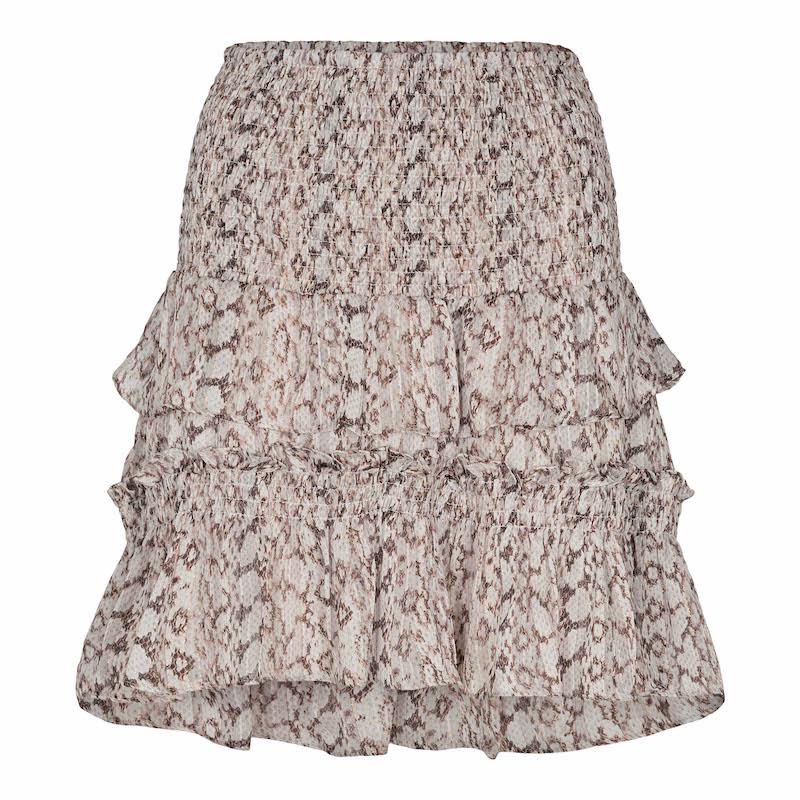 Co`Couture Python Smock Skirt